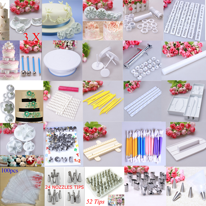 Cake Decorating Solutions Fondant : Fondant Cake Cutter Biscuit Mold Cookie Sugarcraft Plunger ...