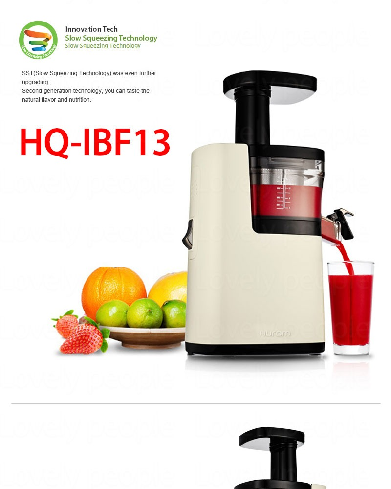 Hurom Slow Juicer Latest Model 2015 : NEW 2015 Hurom Plus Slow Juicer Extractor Fruit vegetable Citrus HQ IBF13 220v eBay
