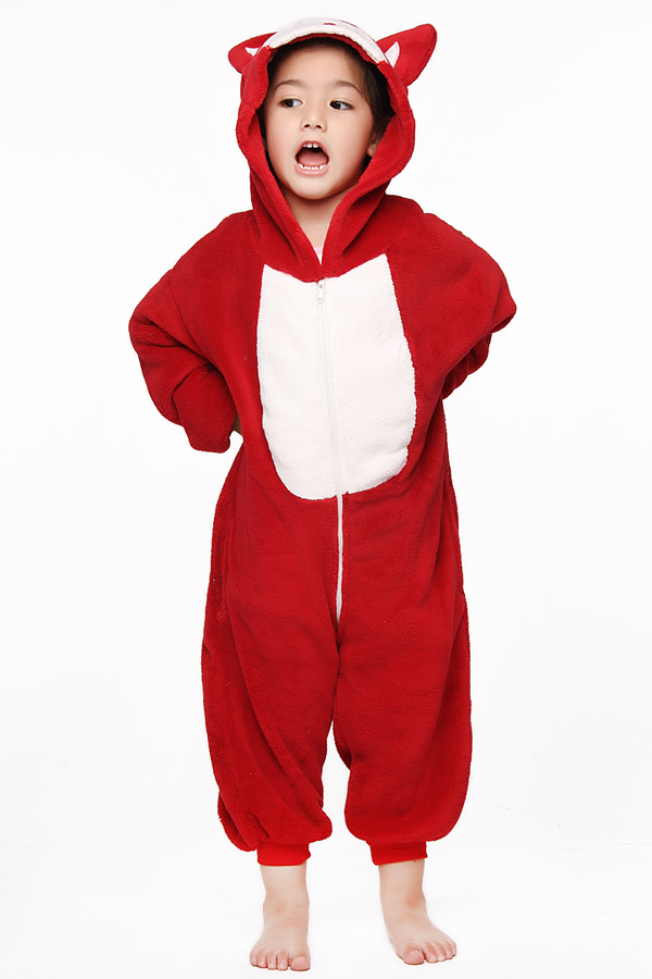 Hot Kids Children's Unisex Kigurumi Animal Cosplay Costume ...
