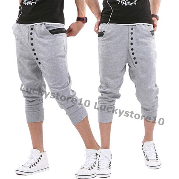 New-Fashion-Mens-Casual-Cool-Sport-Rope-Short-Pants-Jogging-Trousers-MCH0979