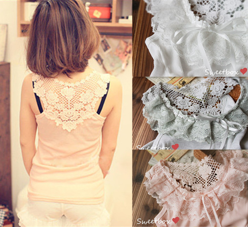 Sexy-Girls-Lace-Shirt-Blouse-Tops-3-Colors