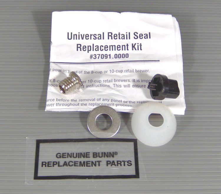 Bunn Coffee Maker Repair Kit : NEW BUNN-O-MATIC 37091.0000 UNIVERSAL REPLACEMENT COFFEE MAKER SEAL RETAIL KIT eBay