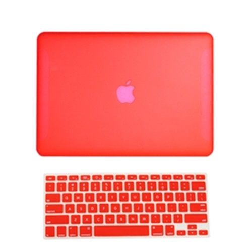 NEW-Rubberized-Hard-Case-for-New-Macbook-White-13-034-A1342-Keyboard-Skin-cover