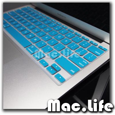 AQUA BLUE Silicone Keyboard Cover for Macbook Air 11