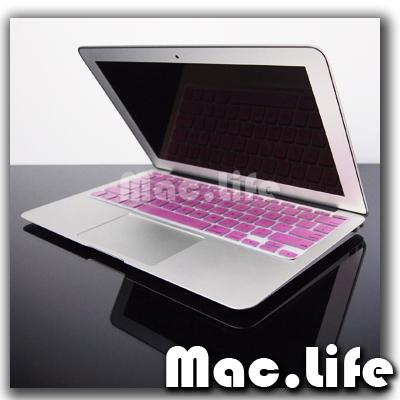 Metallic Pink Keyboard Cover Skin for Macbook Air 11