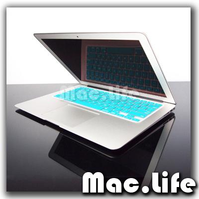 AQUA BLUE Keyboard Cover Skin for NEW Macbook Air 13