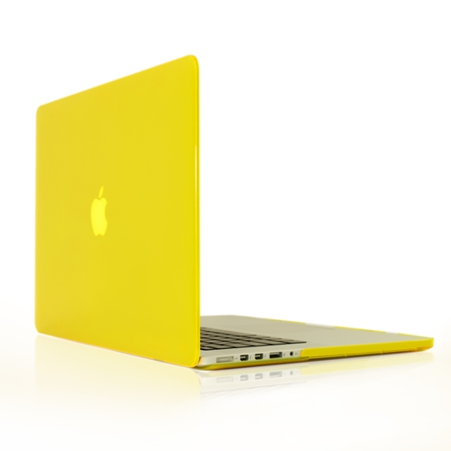 """YELLOW Crystal Hard Case Cover for NEW Macbook Pro 15"""" A1398 with Retina display"""