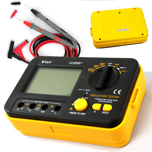 VC60B-Digital-Insulation-Tester-Megger-MegOhm-Meter-DC250-500-1000V-AC750V-New