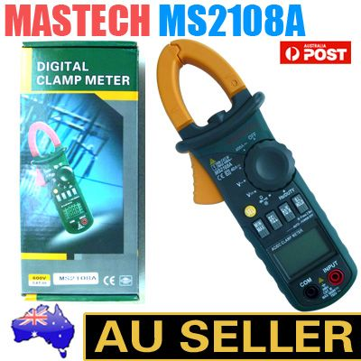 New-MASTECH-MS2108A-4000-Counts-AC-DC-Current-Clamp-Meter-Brand-AU