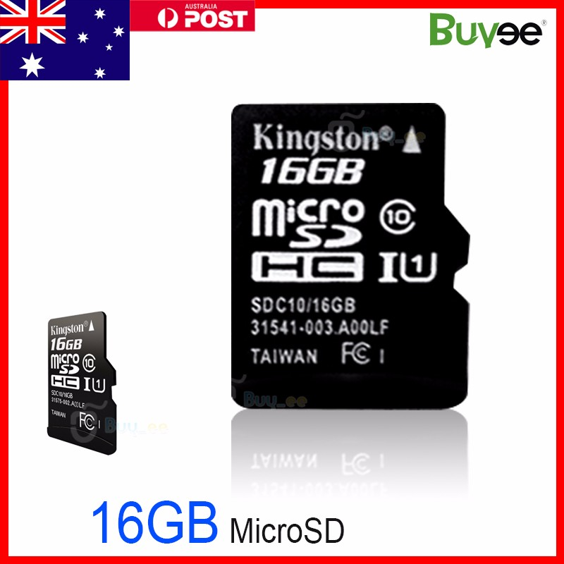 16GB-MicroSD-Micro-SD-TF-Memory-Card-16G-16-GB-AU