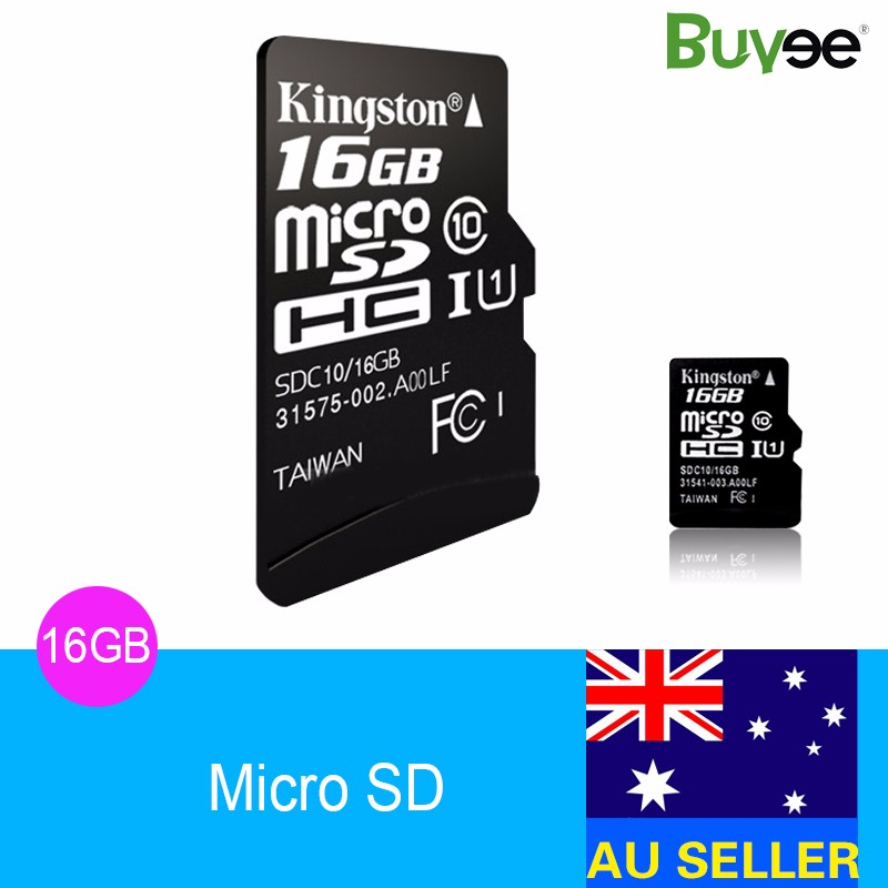 AU-Stock-New-16GB-MicroSD-Micro-SD-TF-Memory-Card-16G-16-GB
