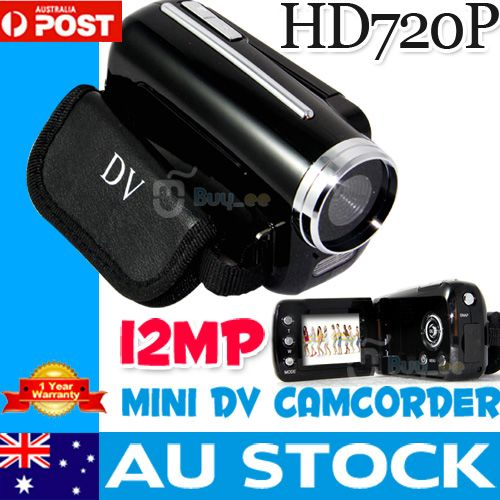 Mini-DV-1-5-LCD-Max-12MP-HD-DC-Digital-Camcorder-Video-Camera-720P-Black