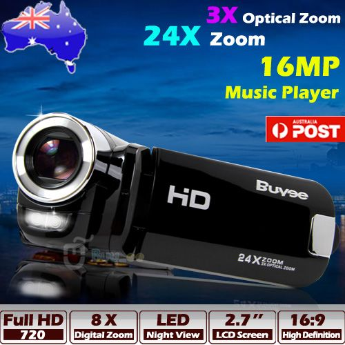 Buyee-HD-720P-Digital-Video-Camera-3x-Optical-Zoom-24x-Zoom-Camcorder-HDMI-16MP