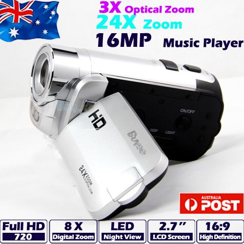 HD-720P-16MP-Camcorder-Digital-Video-Camera-DV-3x-Optical-Zoom-24x-Zoom-HDMI-New