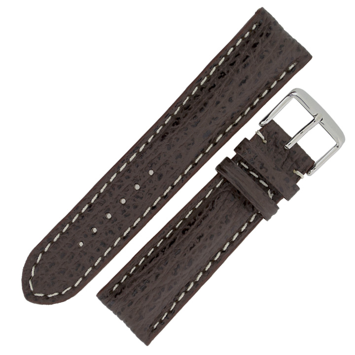 Replacement-Breitling-Style-Shark-Embossed-Calf-Leather-Watch-Strap-Buckle
