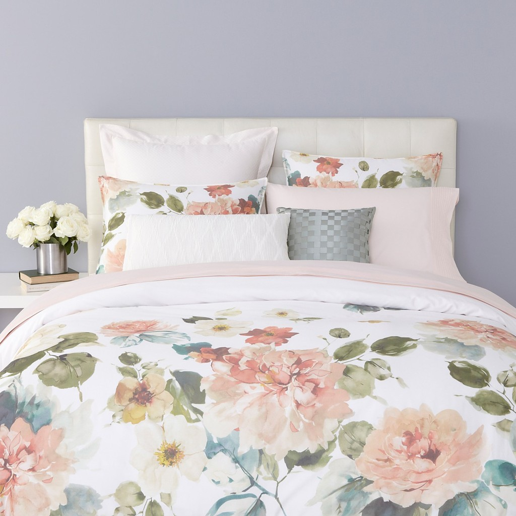 Charisma Sonia Cotton Sateen Queen Duvet Cover Amp 2