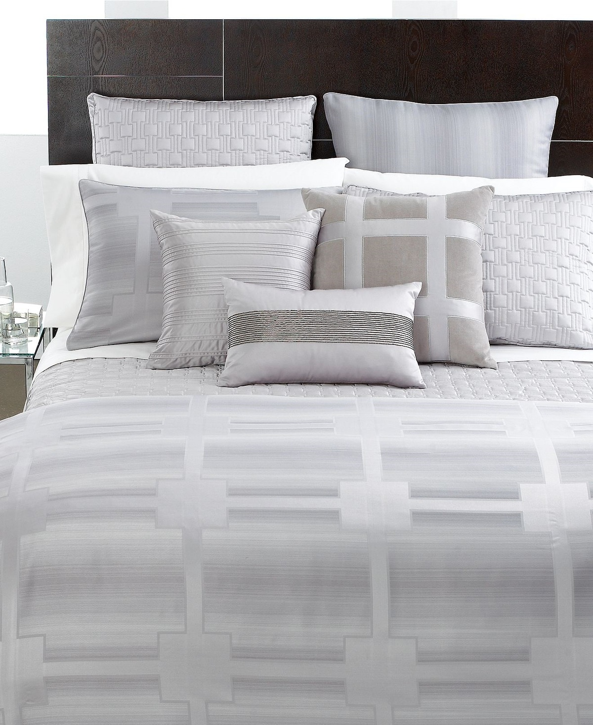 Hotel collection meridian full queen duvet cover for Hotel collection hotels