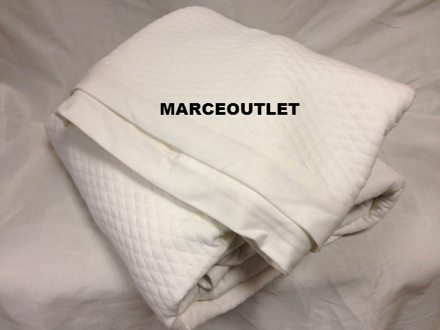Martha Stewart Quilted Triple Knit King Bed Blanket White