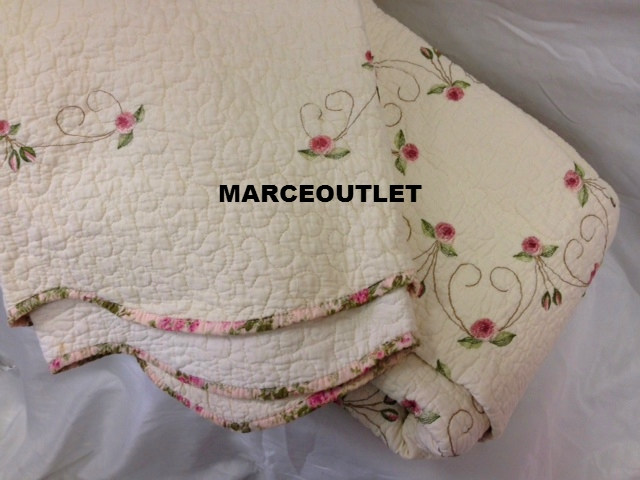 Modern heirloom collection rose garden queen embroidered