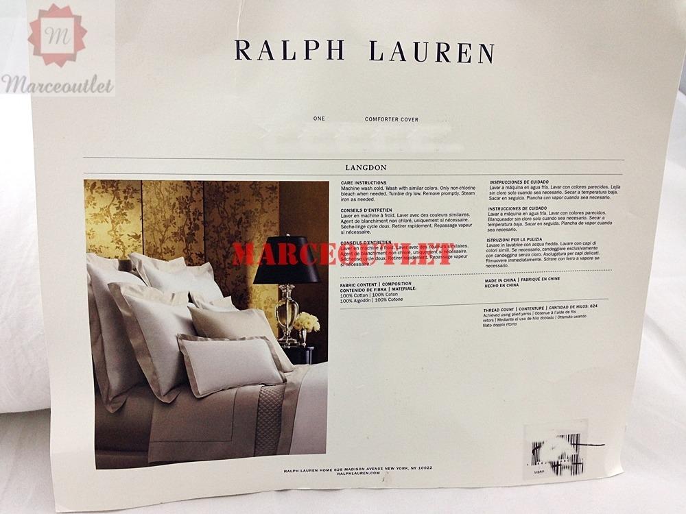 Ralph Lauren Bedding Langdon Border King Duvet Cover
