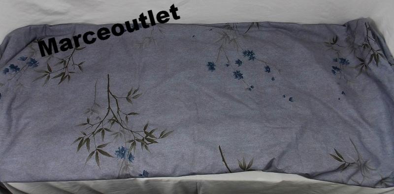 Calvin Klein Quot Bamboo Flowers Quot Full Queen Duvet Cover Blue