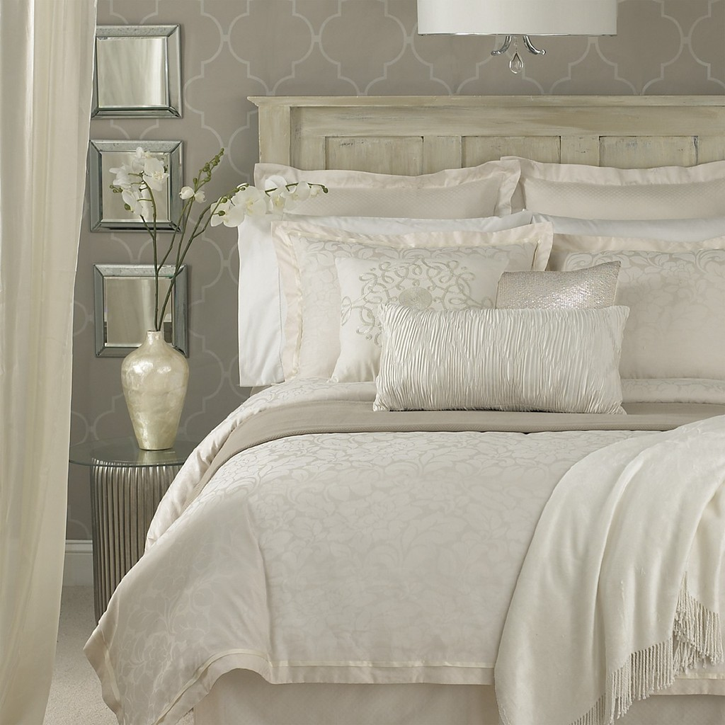 Details About CHARISMA Rochelle QUEEN Duvet Cover Ivory