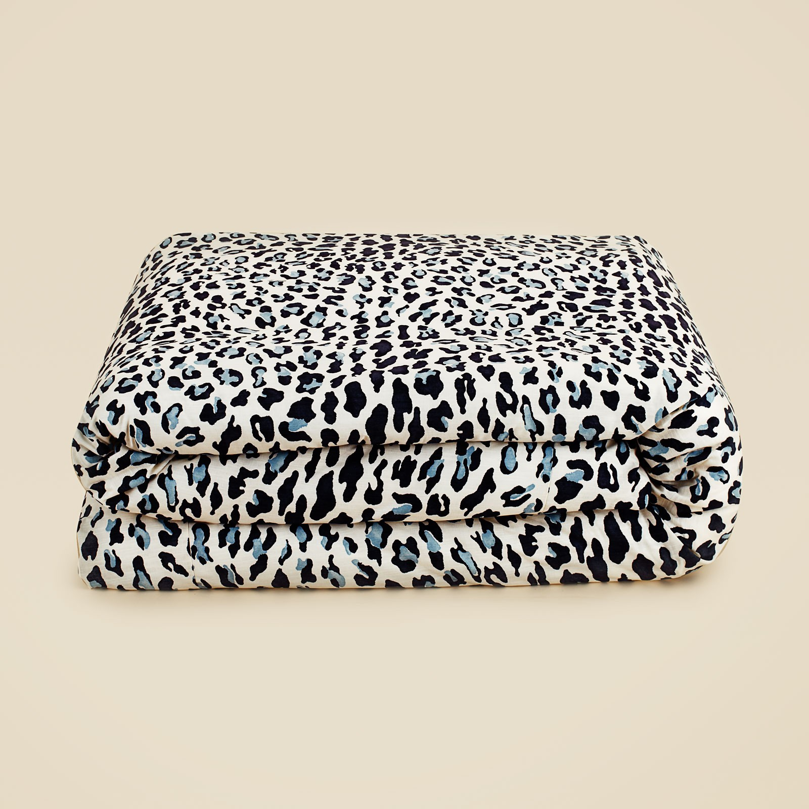 Edmond Frette Leopard Print Queen Duvet Cover Ebay