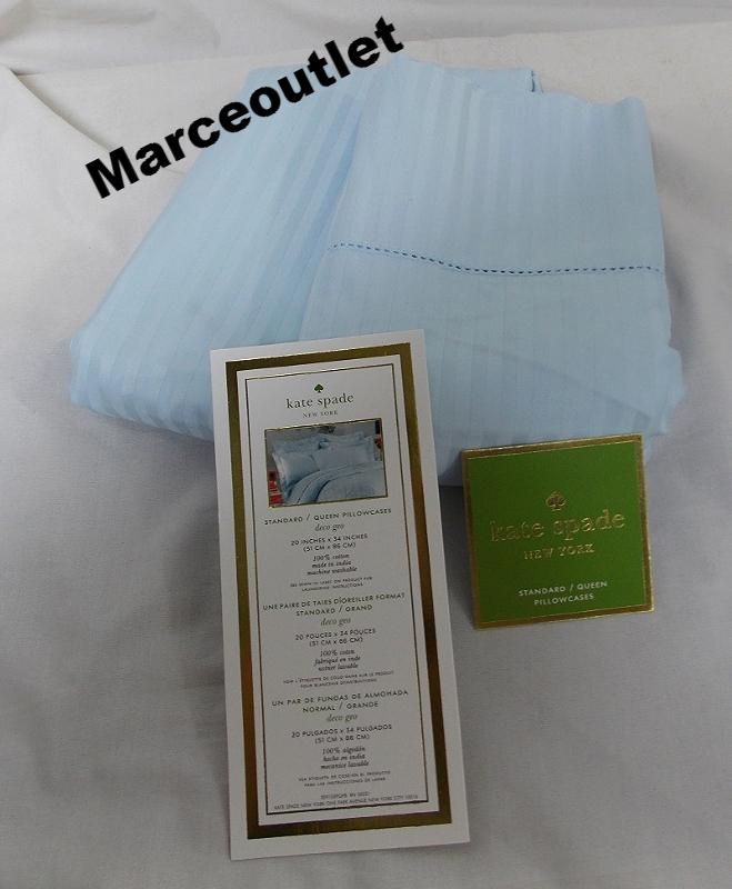 Kate Spade Magnolia Park Standard Queen Pillowcases Powder Blue