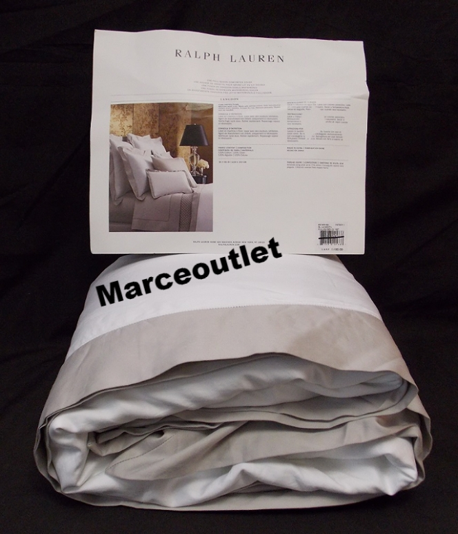Ralph Lauren Langdon Border King Duvet Cover Amp Euro Shams