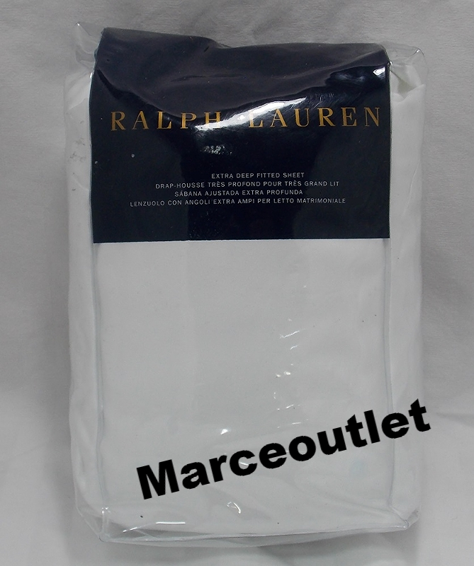 Ralph Lauren 624 Thread Count Cotton Sateen King Fitted