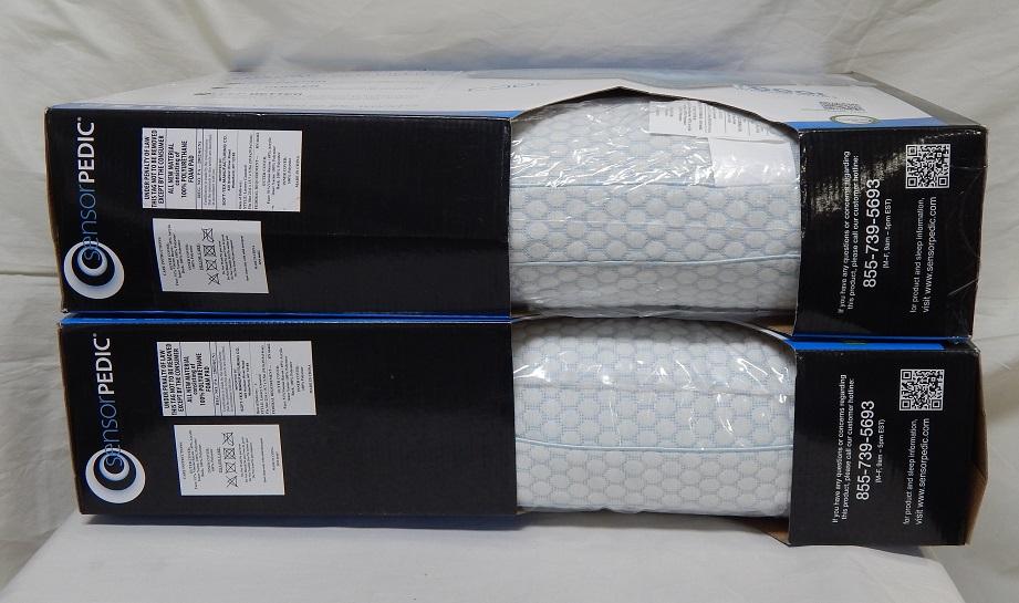 Sensorpedic Sensorgel Luxury Gusseted Foam Gel Infused 2