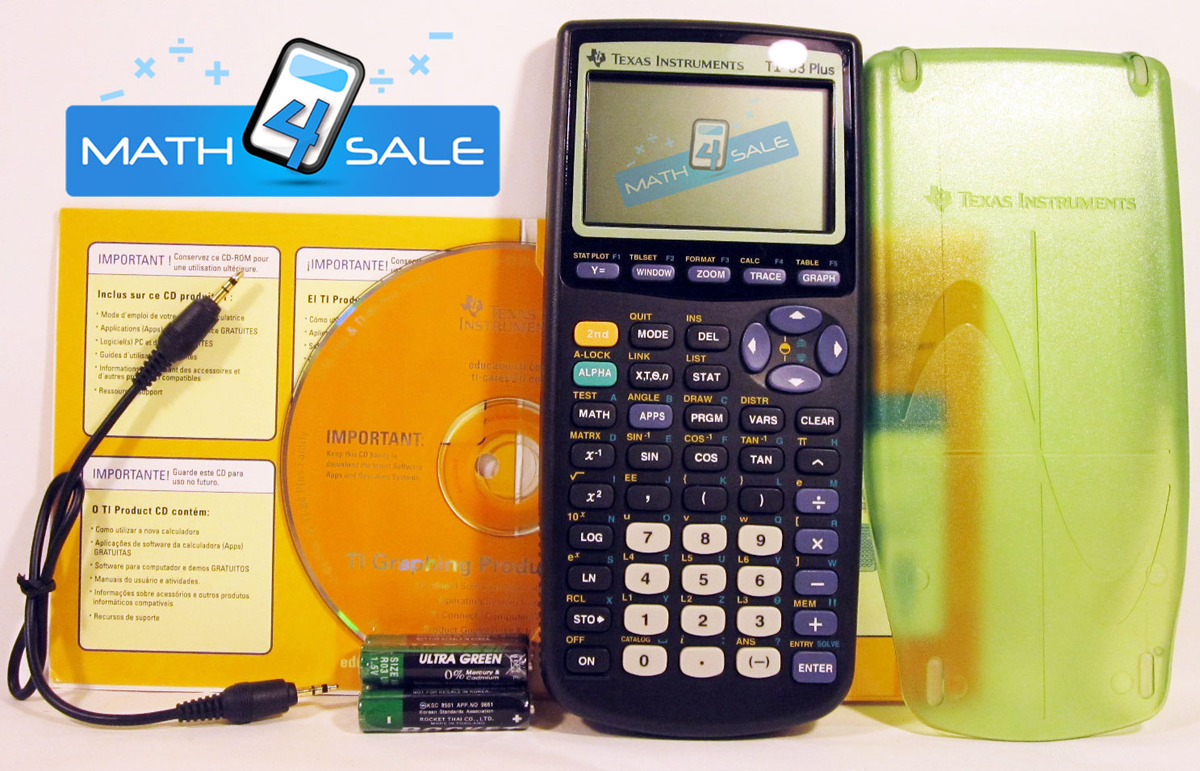 calculator texas instruments ti-83 online use
