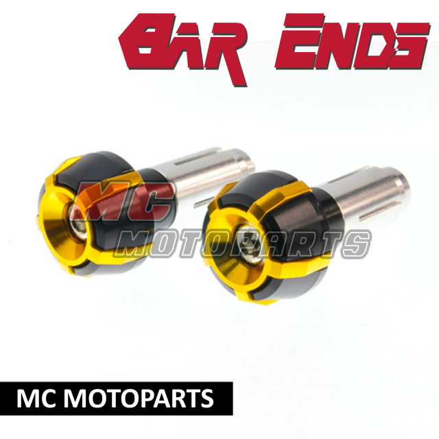 Gold-CNC-Bar-End-BE5A-Honda-CBR600RR-CBR1000RR-CB600F-CBR600-F-RR-F4-F4i
