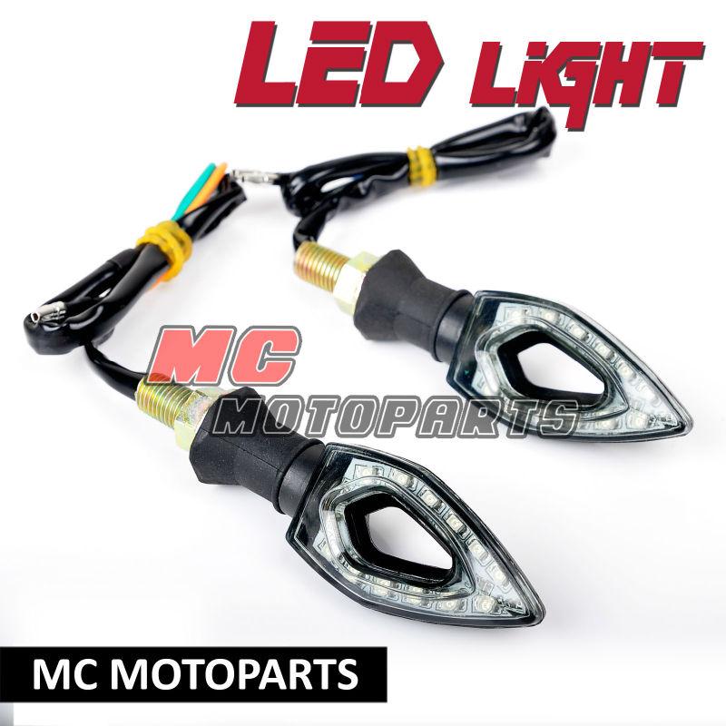 LED-Turn-Signals-Light-Blinkers-Knife-Style-For-Ducati-Triumph-Buell-BMW-Aprilia