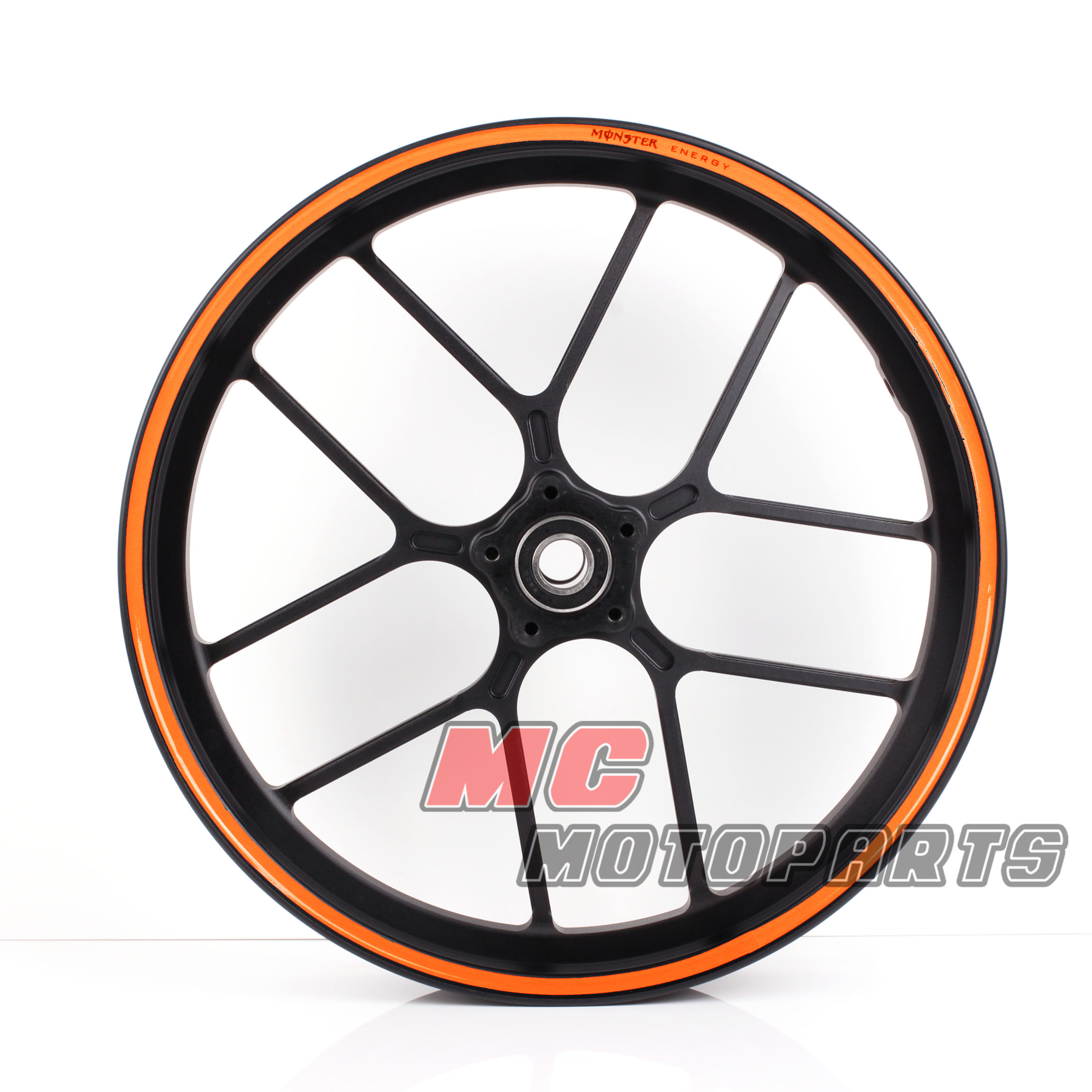 Orange Rim Sticker Decal Wheels 17 for Honda CBR 600 F2 F3 F4 F4i 900