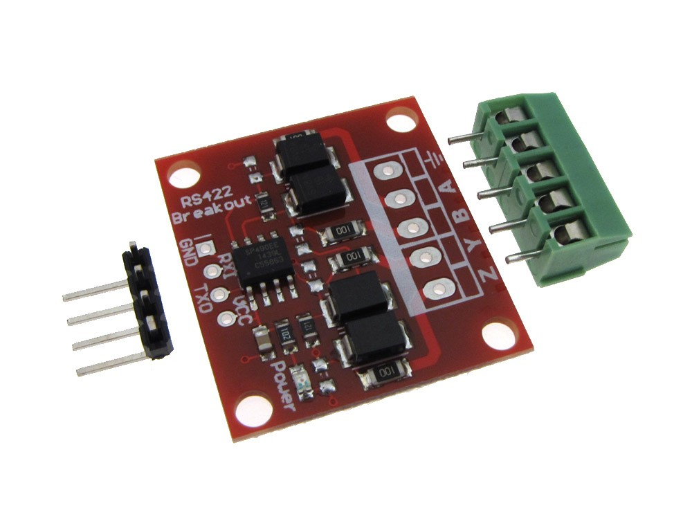 rs422 to ttl breakout board for microcontroller