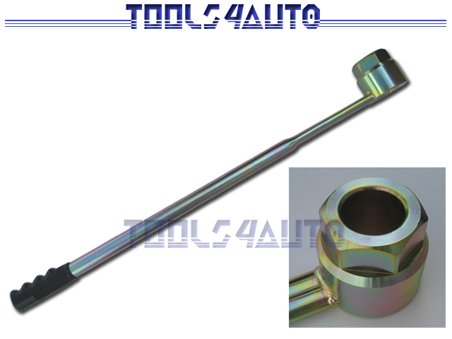 how to use honda crank pulley tool