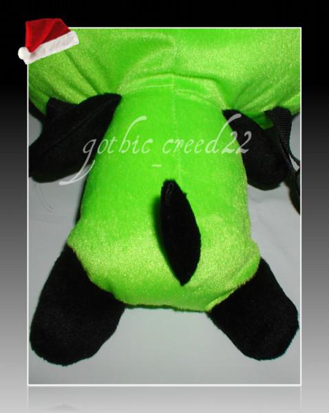 Invader Zim Gir Dog Suit Plush Toy Doll Backpack Bag