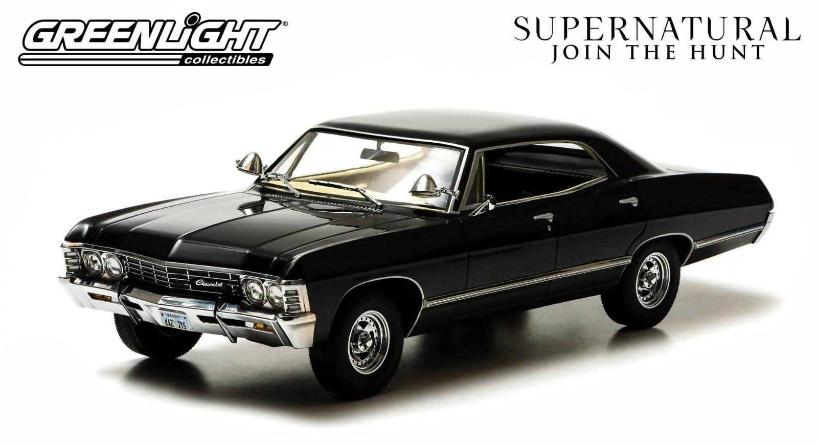 supernatural 1967 chevrolet impala sport sedan 4 doors. Black Bedroom Furniture Sets. Home Design Ideas