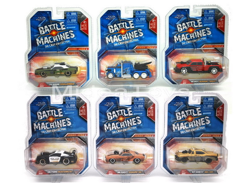 JADA  - BATTLE MACHINES - Agora R/C BM1_64B