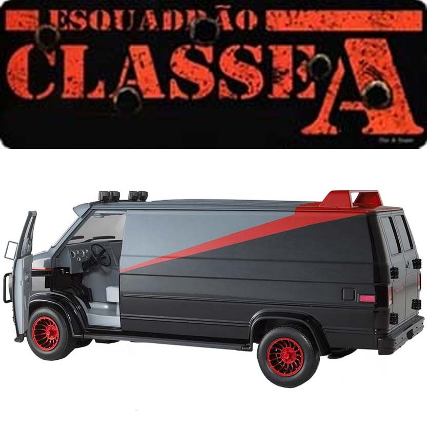 hot wheels 1 18 scale gmc classical a team van tv serie. Black Bedroom Furniture Sets. Home Design Ideas