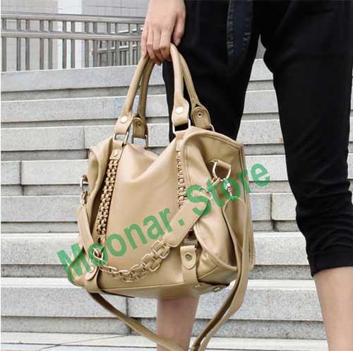 Women Metal Woven Tote Handbag Shoulder Bags Purses F2145-11