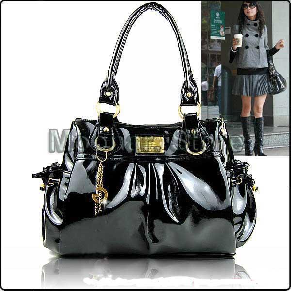 Красивая сумка женская лакированная.