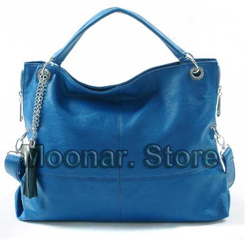 Women Designer PU Leather Hobo Clutch Handbag Shoulder Totes Bag Purse