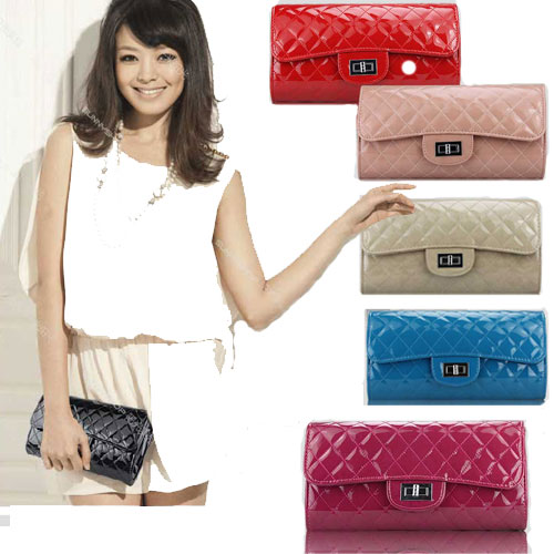 Elegant-OL-Lady-PU-Leather-Hasp-Check-Plaid-Clutch-Shoulder-Bag-Handbag-Purse