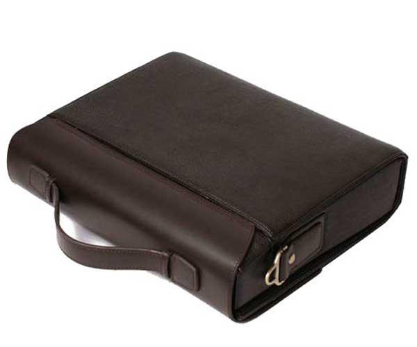 Authentic Moonar Men'S Leather Shoulder Messenger Briefcase Bag Bookbag 57