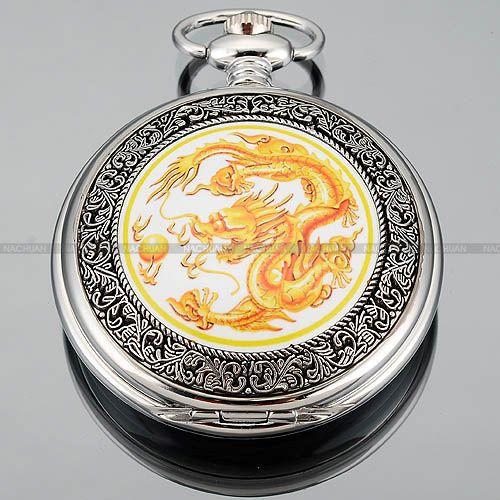 Classic-Dragon-Pendant-Dangle-Pocket-Quartz-Watch-Lady-Men-Chain-Dress-Necklace