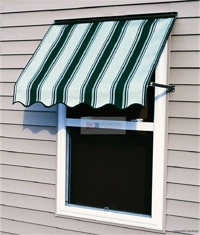 Sunbrella Window Awnings - Window Awnings 145 Colors ...