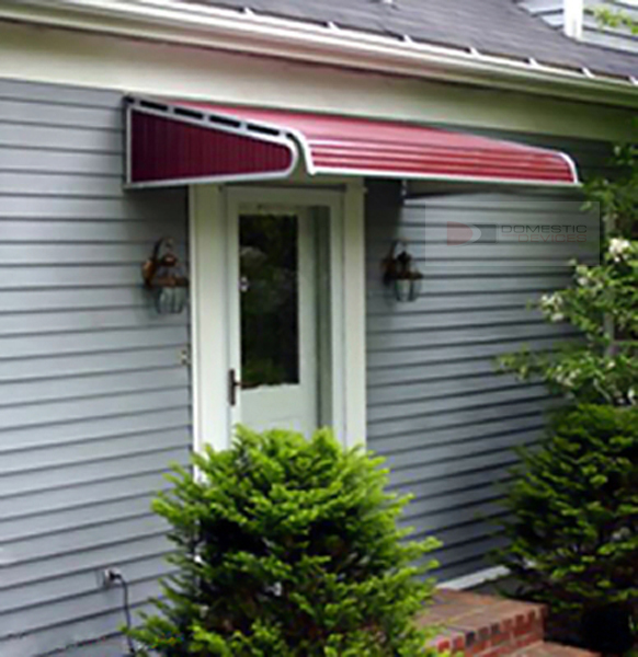 House Awnings For Doors And Windows : Aluminum door canopies awnings canopy