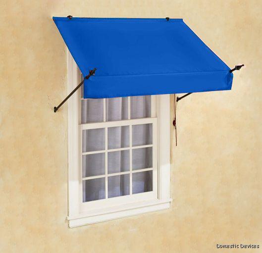 DIY Awnings for Window & Door - 4',6',8' Fabric Awnings | eBay